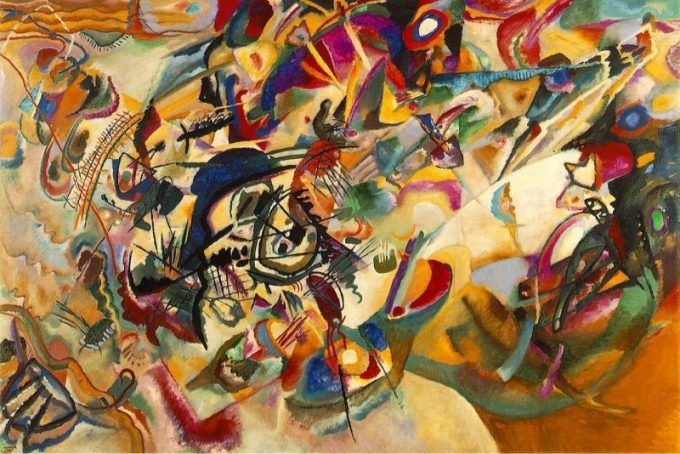 Wassily Kandinsky, Compositie VII, 1913
