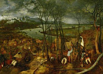 Pieter Bruegel de Oude – De sombere dag (vroege voorjaar), 1565