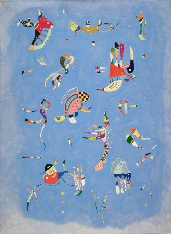 Wassily Kandinsky, Sky blue, 1940