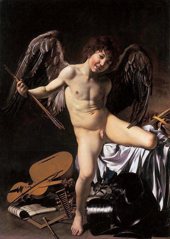 Michelangelo Merisi da Caravaggio, Amor vincit omnia, 1601–1602