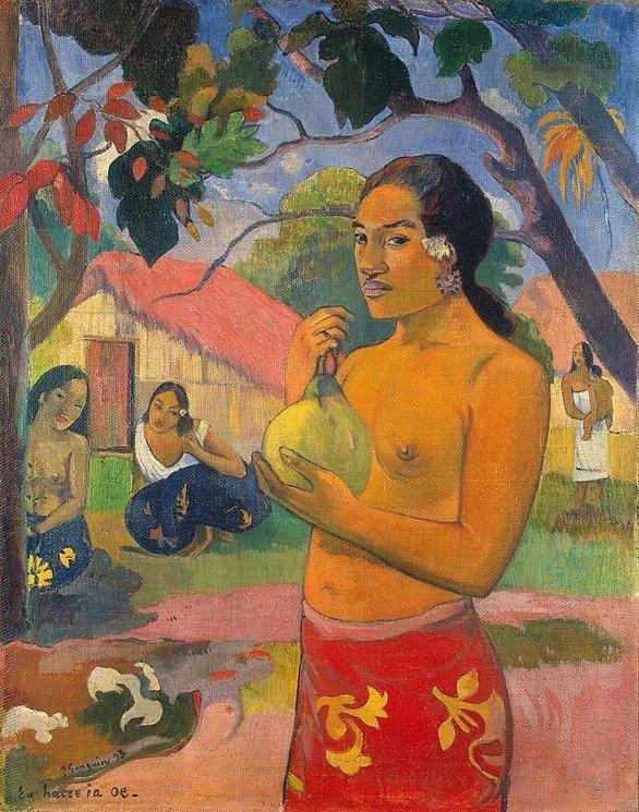 Paul Gauguin, Eu haere ia oe (Waar ga je heen?), 1893