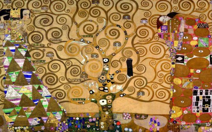 Gustav Klimt, De levensboom drieluik