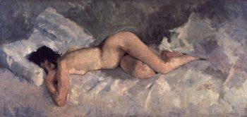 George Hendrik Breitner, Liggend naakt, 1887