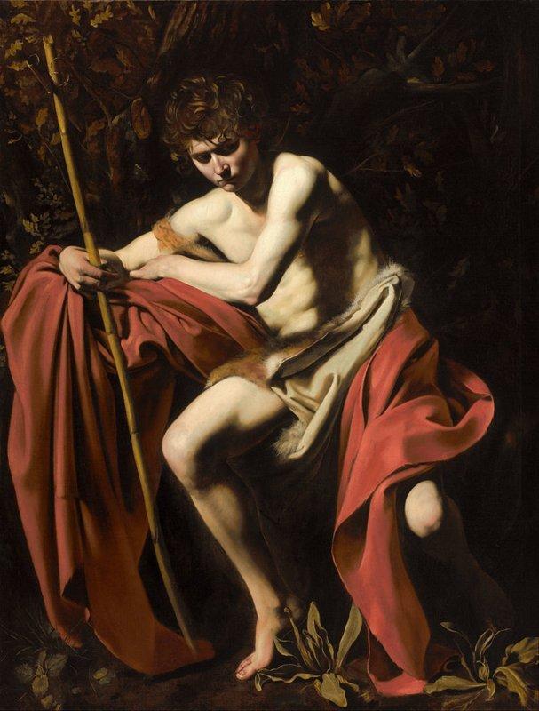 Michelangelo Merisi da Caravaggio, Johannes de Doper, 1604