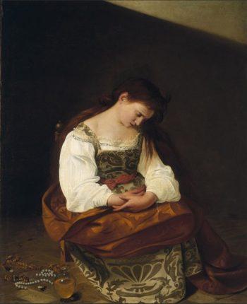 Michelangelo Merisi da Caravaggio, Maria Magdalena, ca. 1594-1595