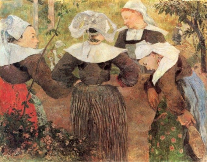 Paul Gauguin, Bretonse meisjes, 1886