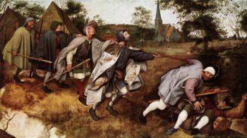 Pieter Bruegel de Oude, De parabel van de blinde en de lamme, 1568