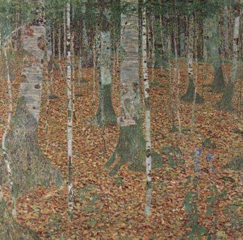 Gustav Klimt, Berkenbos