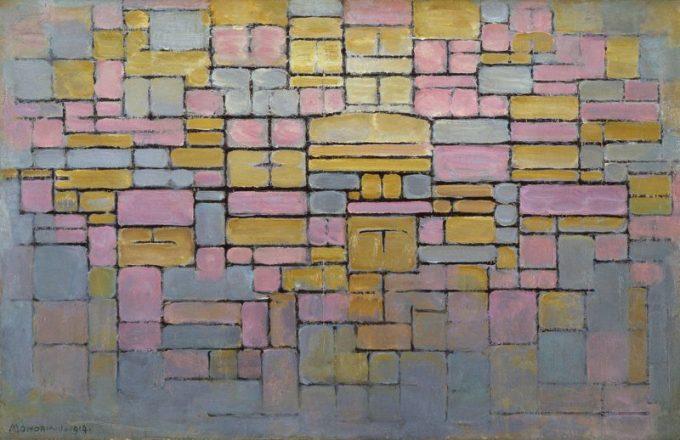 Piet Mondriaan, Tableau no. 2 / Compositie V, 1914