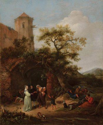 Jan Steen, De waarzegster, ca. 1650 – 1654