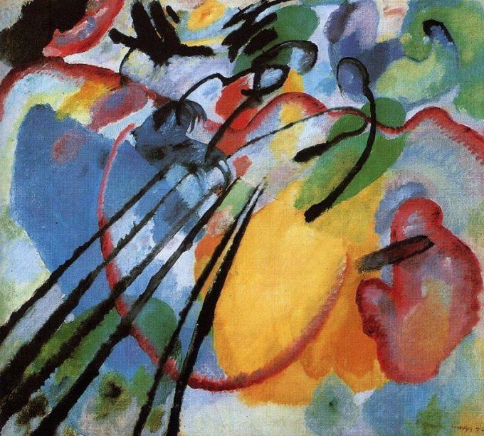 Kandinsky, Improvisatie 26