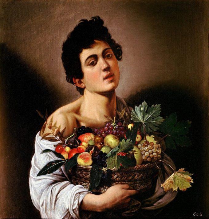 Michelangelo Merisi da Caravaggio, Jongen met een fruitmand, ca. 1593-94
