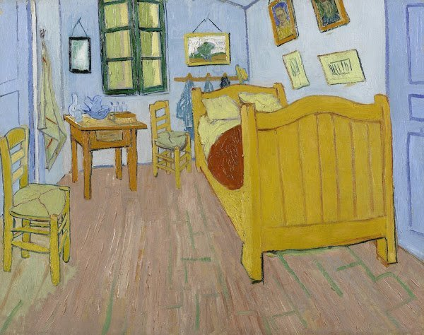 Vincent van Gogh, Vincents slaapkamer, 1888