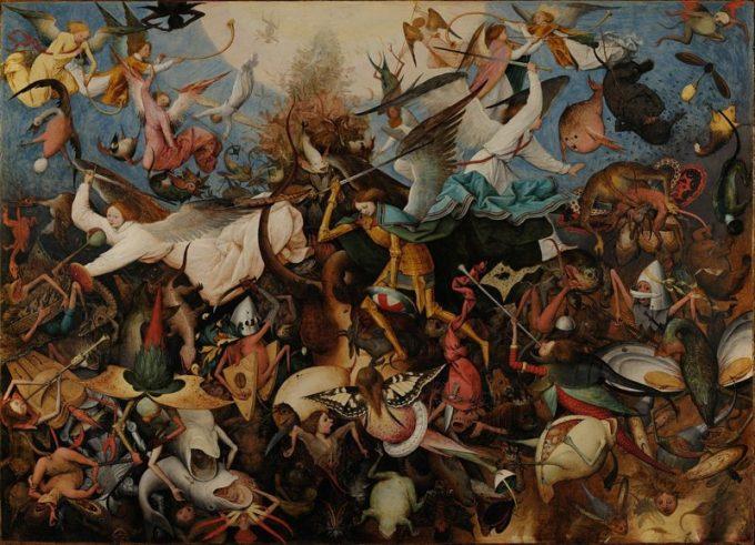 Pieter Bruegel de Oude, De val der opstandige engelen, 1562