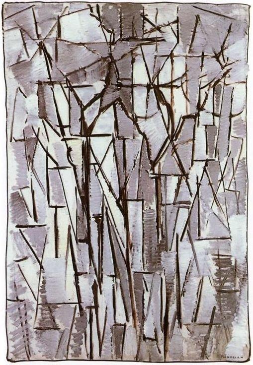 Piet Mondriaan, Compositie bomen 2, 1913