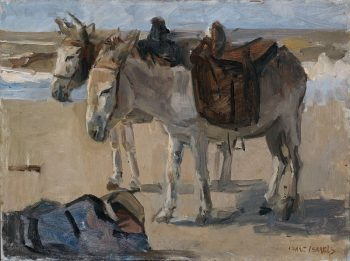Twee ezeltjes, Isaac Israëls, 1897 – 1901