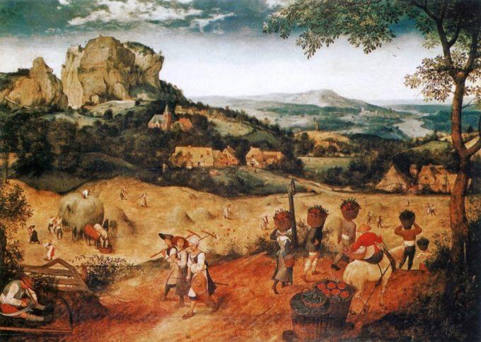 Pieter Bruegel de Oude, De hooioogst, 1565