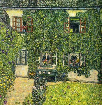 Gustav Klimt, Het huis van Guardaboschi, 1912