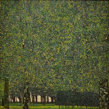 Gustav Klimt, Het park, 1910