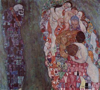 Gustav Klimt, Leven en dood, 1910