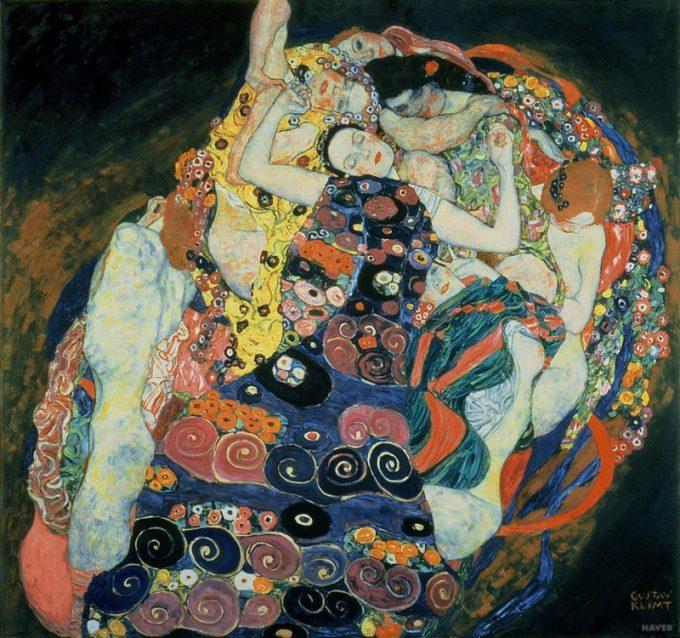 Gustav Klimt, De maagden