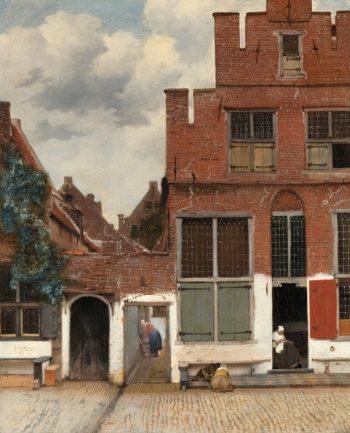 Johannes Vermeer, Het straatje in Delft, ca. 1658