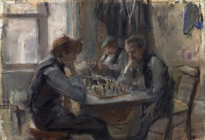 Isaac Lazarus Israëls, De schaakspelers