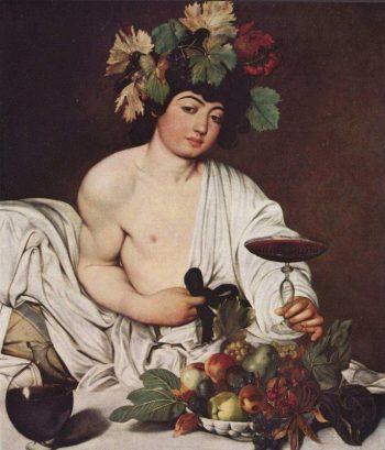 Michelangelo Merisi da Caravaggio, Bacchus, 1596