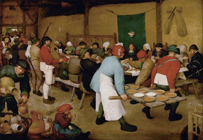 Pieter Bruegel de Oude, Boerenbruiloft, ca 1567-1568