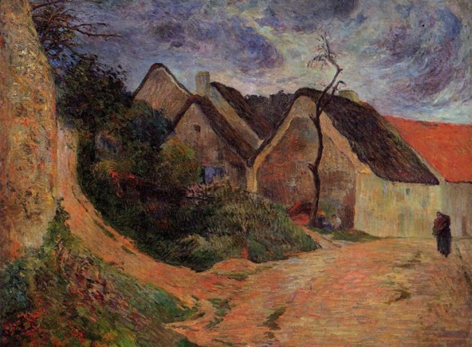 Paul Gauguin, Oplopende weg in Osny, 1848-1903