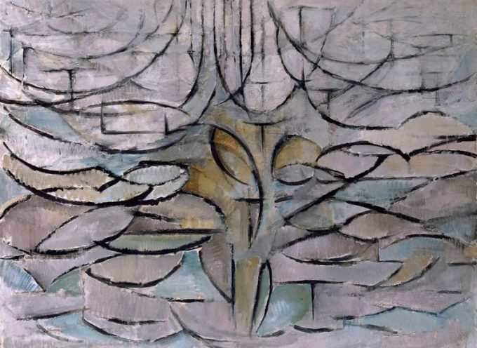 Piet Mondriaan, Bloeiende appelboom, 1912