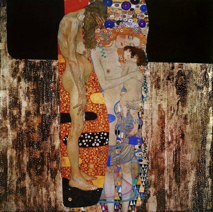 Gustav Klimt, De 3 levensfases van de vrouw, 1905