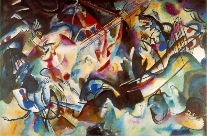 Kandinsky, Compositie VI