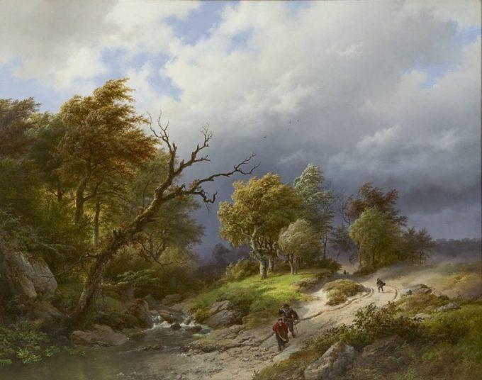 B.C. Koekkoek, Opkomend noodweer