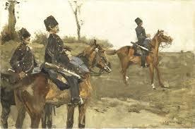 George Hendrik Breitner, Huzaren, ca. 1880 – ca. 1890