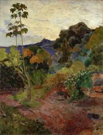 Paul Gauguin, Landschap op Martinique, 1887