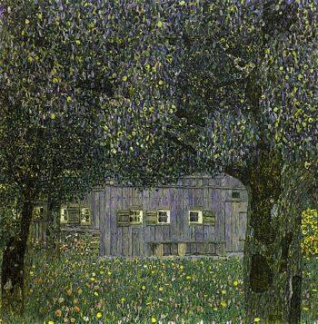 Gustav Klimt, Boerderij in Boven-Oostenrijk, 1862-1918