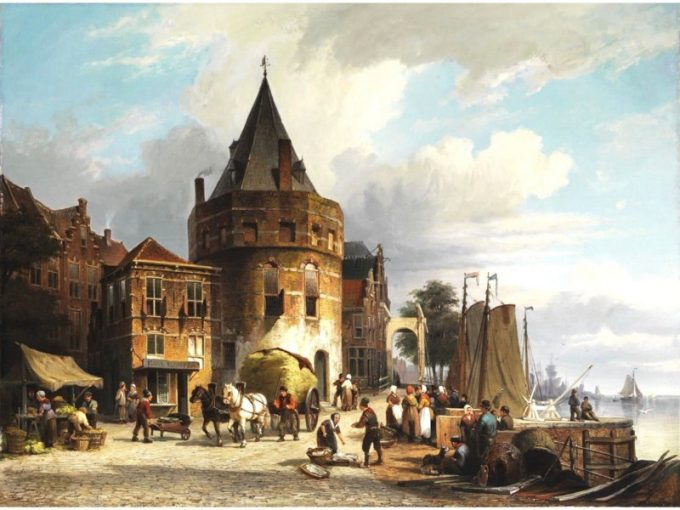 Willem Koekkoek, Schreierstoren, 1839-1895