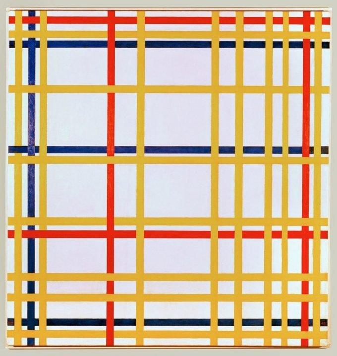Piet Mondriaan, New York 1, 1942