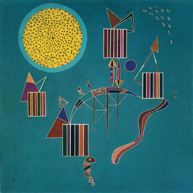 Kandinsky, Intime message