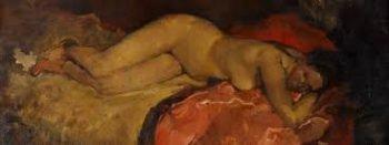 George Hendrik Breitner, Liggend naakt 2, ca. 1887