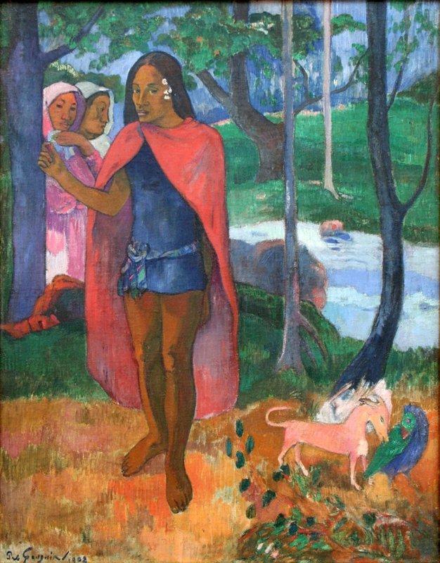 Gauguin, De tovenaar van Hiva oa