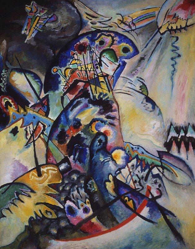 Kandinsky, Blauwe kam