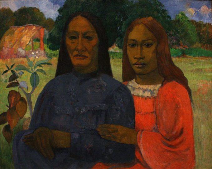 Gauguin, Twee vrouwen