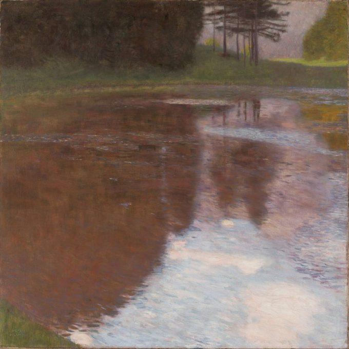 Gustav Klimt, Stil meer (Egelsee), 1899