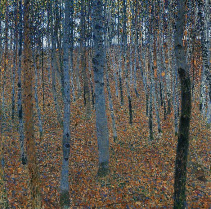 Gustav Klimt, Berkenbos, 1903
