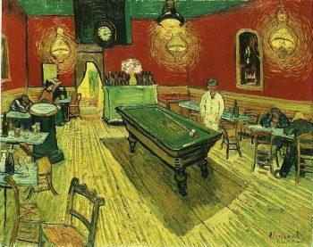 Vincent van Gogh, Het nachtcafe, 1888