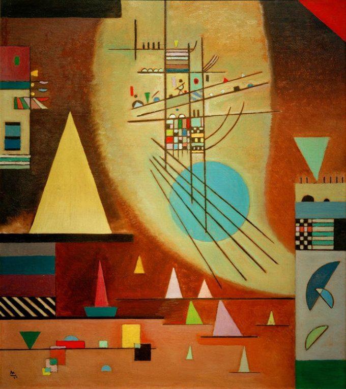 Wassily Kandinsky, Verstummen, 1924