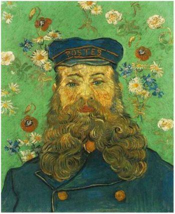 Vincent Van Gogh, Portret van Jozeph Roulin, 1889