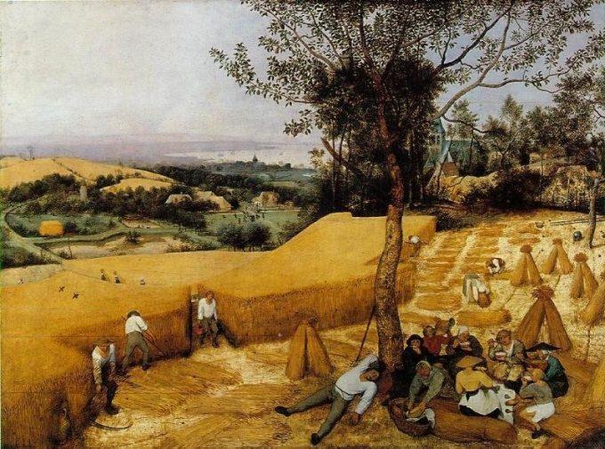 Pieter Bruegel de Oude, De oogsters, 1565
